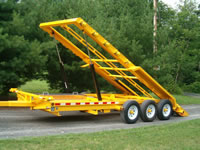 Safety Yellow Trailer