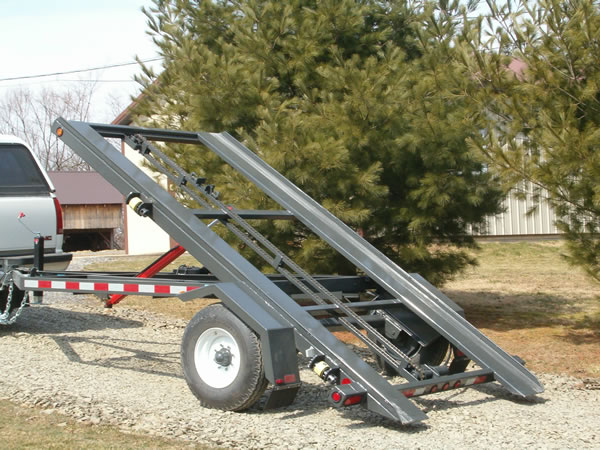 Storage Shed Ramps >> Shed Trailers By Creekside Welding